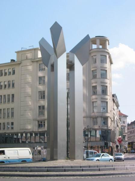 如一般大城市,布魯塞爾不乏高樓大廈。